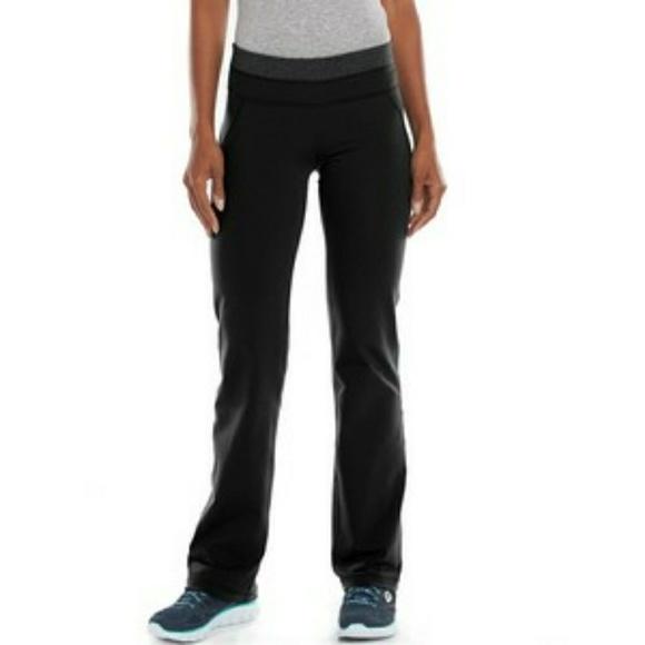 78b2c2fd07 Black Shapewear Bootcut Medium Short Pants. M 5a6e32031dffda19baadacc9